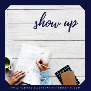 Daily Inspiration – Show Up