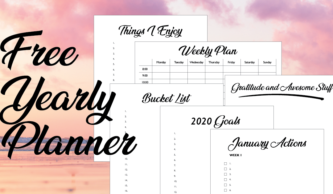 A New Year and A New Yearly Planner