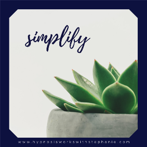 Daily Inspiration – Simplify